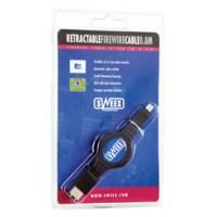 Sweex FireWire kabel zelfoprollend