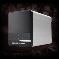Conceptronic Grab 'n Go NAS Media Store