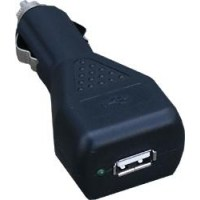 Gembird USB Car Charger Zwart