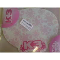 Rainbow K3 Mousepad Flower Design