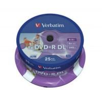 Verbatim DVD+R Double Layer Printable 8x