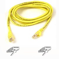 Belkin RJ45 CAT-5e Snagless STP Patch Cable 0.5m yellow