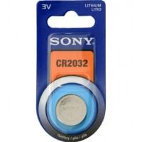 Sony CR2032B1A - Sony-lithiumcelbatterij - type CR2032 - blisterverpakking met 1 cel.