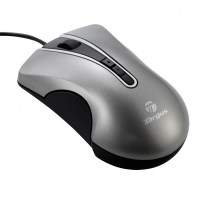 Targus Wired 5-button laser mouse with unique programmable buttons and scroll wheel