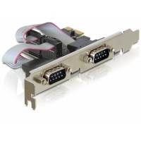 DeLOCK PCI Express > 2 x Serial