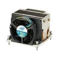 Intel Passive/active combination heat sink with removable fan