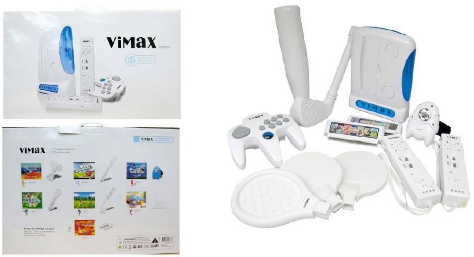 salland eu vimax spelcomputer wit rep arc9800