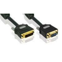 Profigold DVI-A Male to VGA 15pin HD Male