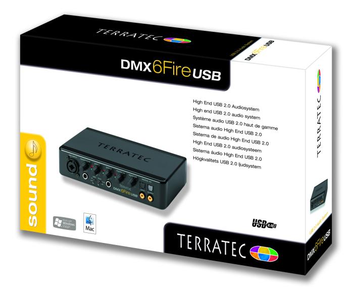 Terratec DMX 6Fire USB drivers