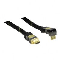 Konig Highspeed HDMI-HDMI 1.4 Haakse 90°