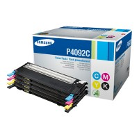 Samsung CLT-P4092C - Tonercartridge - 4 x zwart, geel, cyaan, magenta - 1000 pagina's