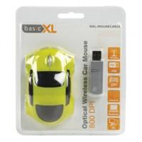 basicXL Optische Draadloze Auto Muis