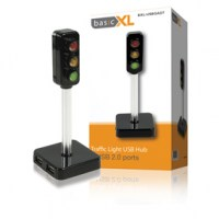 basicXL Verkeerslicht Usb Hub