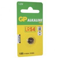 GP Knoopcel LR54 alkaline 1.5V