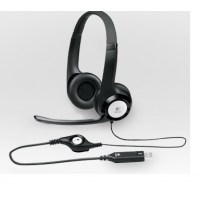 Logitech Stereo Headset H390 - Hoofdtelefoon ( Oorkap )