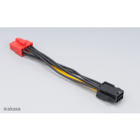 Akasa PCIe 6pin to PCIe2.0 8pin adapter