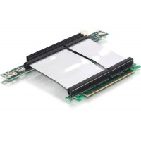 DeLOCK Riser card PCI Express x16 with flexible cable left insertion