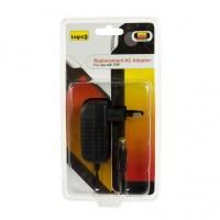 Logic 3 Replacement AC Adaptor (Black)  PSP & PSP Slim & Lite