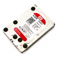 WD Red 4tb Sata 6gb/s 64mb Cache Internal 3,5inch Optimized For 24-7use, Hdd Bulk
