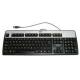 HP Keyboard UK USB Silver