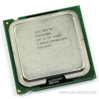 Intel Pentium IV 3.40 GHz/800 MHz/90 nm/D0/1 MB/LGA 775