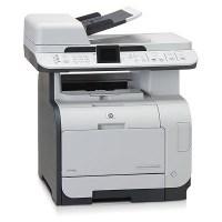 HP Color Laserjet CM2320NF Printer, including used toner