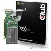 Nvidia Nvidia GeForce 7200GS 256MB PCI-Express DVI/TV