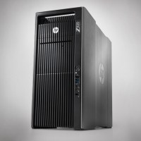 HP Z820 2x Xeon 8C E5-2680 2.70Ghz/32GB/240GB SSD/ 2TB SATA/DVDRW/Quadro 4000/Win 10 Pro Mar Com ML