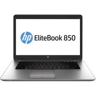HP EliteBook 850 G2, 850 G2 I5-5200 15F WC/8GB/256SGB SSD/4G/FP/Win 10 Pro - Renew