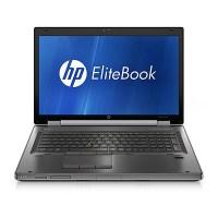 HP EliteBook 8760w I7-2620M 2.7Ghz/Quadro 3000m/16GB DDR3/128GB SSD/DVDRW/17 inch/US Intl/Windows 10 Pro Mar Com (Grade B)