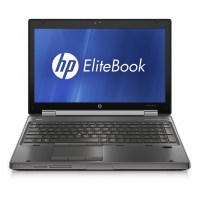 HP Workstation 8560w I5-2540M 2.60 GHz/Quadro 1000m/8GB DDR3/128GB SSD/DVDRW/17 inch/US Intl/Windows 10 Pro Mar Com (Grade B)